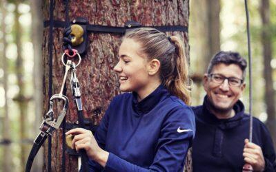 Prøv kræfter med klatring